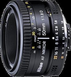 Nikon AF FX NIKKOR 50mm f/1.8D for sale