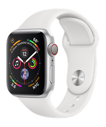 Apple Watch Series 4 40mm (Unlocked) [A1975 - Cellular], Aluminum - Silver