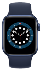 Apple Watch Series 6 40mm [A2291 - GPS Only], Aluminum - Blue