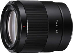 Sony FE 35mm f1.8 Large Aperture Prime Lens for sale on Swappa