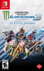 Monster Energy Supercross: The Official Videogame 3 for Nintendo Switch