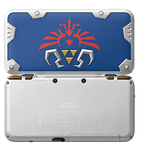 Nintendo 2DS XL, Hylian Shield Edition - Silver, 1 GB
