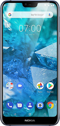 Nokia 7.1 (Unlocked) - Navy Blue, 64 GB, 4 GB