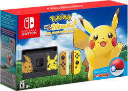Nintendo Switch, Pikachu Edition - Grey, 32 GB