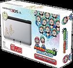 Nintendo 3DS XL, Mario & Luigi Dream Team Edition - Silver, 1 GB