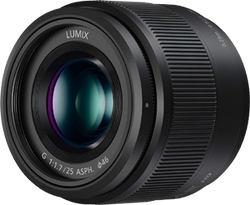 Panasonic Lumix G Lens, 25mm, f1.7 ASPH for sale on Swappa