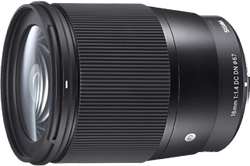 Sigma 16mm f1.4 DC DN for Sony E for sale on Swappa