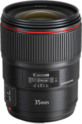 Canon EF 35mm f/1.4L II USM for sale on Swappa