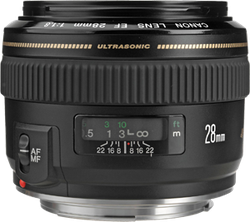 Canon EF 28mm f1.8 USM Wide Angle for sale on Swappa
