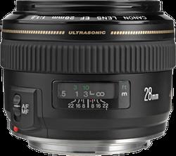 Canon EF 28mm f1.8 USM Wide Angle