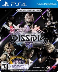 Dissidia: Final Fantasy - NT, Steelbook Brawler Edition for PlayStation 4