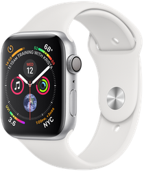 Apple Watch Series 4 44mm [A1978 - GPS Only], Aluminum - Silver