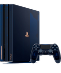 PlayStation 4 Pro, 500 Million Limited  - Blue, 2 TB