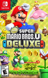New Super Mario Bros. U + New Super Luigi U for Nintendo Switch