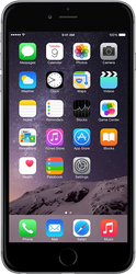 Apple iPhone 6 Plus (Unlocked) [A1522] - Silver, 16 GB