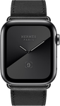 Apple Watch Series 5 44mm (Verizon) [A2095 Cellular], Hermes - Silver