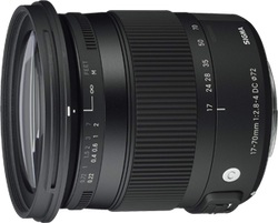Sigma 17-70mm F2.8-4 Contemporary DC Macro OS HSM for sale