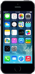 Apple iPhone 5S (Unlocked) [A1533], GSM - Silver, 16 GB