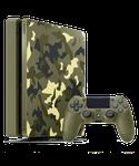 PlayStation 4 Slim - Green Camo, 1 TB
