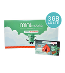 Used Mint Mobile – FREE 3 Month 8GB/mo Wireless Plan