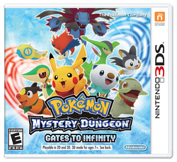 Pokemon Mystery Dungeon: Gates to Infinity for sale
