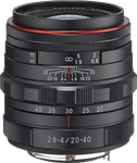 Pentax HD DA 20-40mm f2.8-4 ED Limited DC WR Zoom