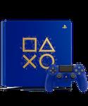 PlayStation 4 Slim, Days of Play - Blue, 1 TB
