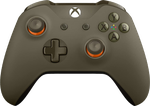 Xbox One Controller - Green & Orange
