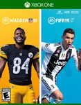 Madden NFL 19 and FIFA 19 for Xbox One