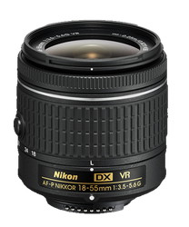 Nikon 18-55mm f/3.5 - 5.6G VR AF-P DX Nikkor for sale