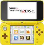 Nintendo 2DS XL, Pikachu - Yellow, 1 GB