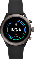 Fossil Sport Smartwatch, 43mm - Black