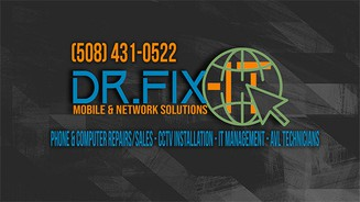 Dr. Fix-IT Mobile and Network Solutions Banner
