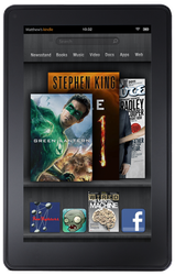 Amazon Kindle Fire 2nd Gen (Amazon) - Black, 8 GB