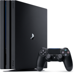 PlayStation 4 Pro, Standard - Black, 1 TB