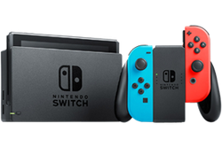 Nintendo Switch - Red & Blue, 32 GB