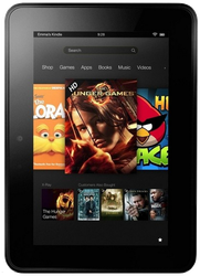 Amazon Kindle Fire HD (Amazon) - Black, 16 GB