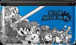 Nintendo 3DS XL, Super Smash Bros Edition - Blue, 1 GB
