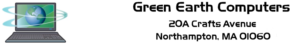 Green Earth Computers Banner