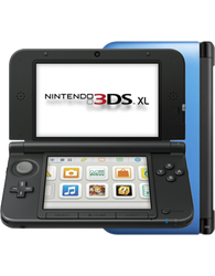 Nintendo 3DS XL - Blue, 1 GB
