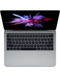 "MacBook Pro 2017 (No Touch Bar) - 13"" - Silver, 256 GB, 8 GB"