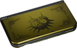 New Nintendo 3DS XL, Majora's Mask Edition - Gold, 1 GB