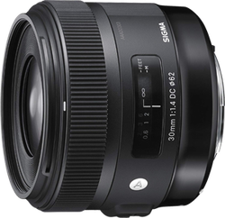 Sigma 30mm f1.4 Art DC HSM Lens for Canon for sale