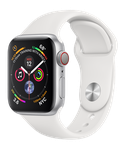 Apple Watch Series 4 40mm (T-Mobile) [A1975 - Cellular], Aluminum - Silver