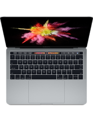 "MacBook Pro 2017 (With Touch Bar) - 13"" - Gray, 256 GB, 16 GB"