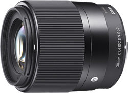 Sigma 30mm F1.4 Contemporary DC DN Lens (Sony E-Mount) for sale on Swappa