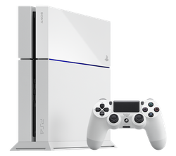 PlayStation 4, Standard - White, 500 GB