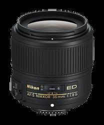 Nikon AF-S NIKKOR 35mm f/1.8G ED for sale