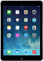 Apple iPad Air (Wi-Fi) - Silver, 32 GB