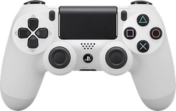 DualShock 4 Wireless Controller - White